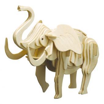 Holzbausatz Elefant