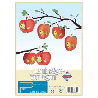 Decoration: Apples with Worms