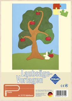 """Laubsägevorlage """"Apfelbaum"""""""