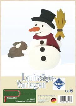 """Kantenhocker"" Snowman"