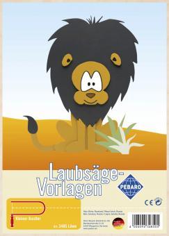"Laubsägevorlage ""Löwe"""