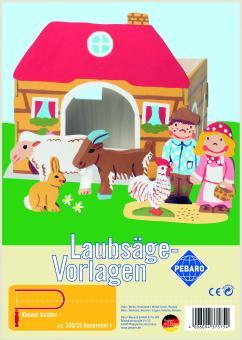 """Laubsägevorlage """"Bauernhof I"""""""