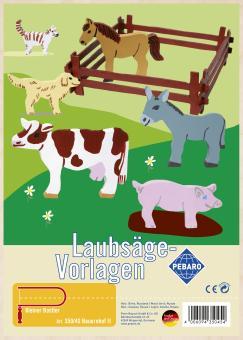 """Laubsägevorlage """"Bauernhof II"""""""