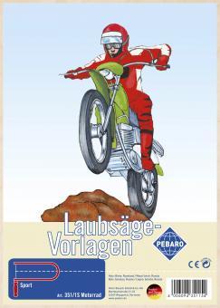 "Laubsägevorlage ""Motorrad"""