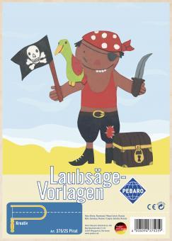 """Laubsägevorlage """"Pirat"""""""