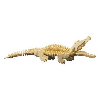 Holzbausatz Krokodil