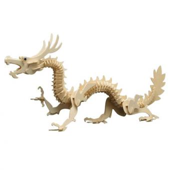 Woodconstruction Chinese Dragon