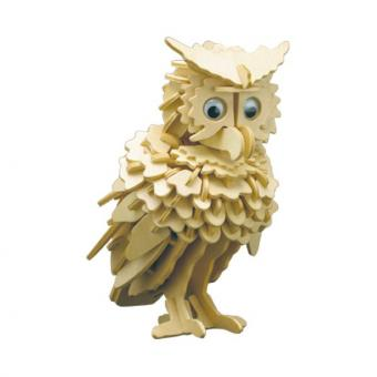 Woodconstruction Owl