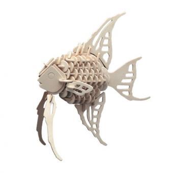 Holzbausatz Fisch