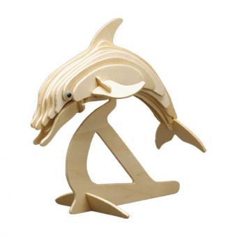 Holzbausatz Delphin