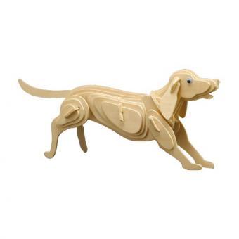 Holzbausatz Hund