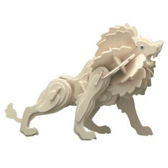 Woodconstruction Lion