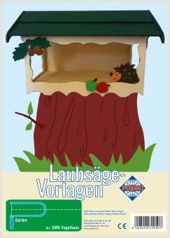 """Laubsägevorlage """"Vogelhaus"""""""