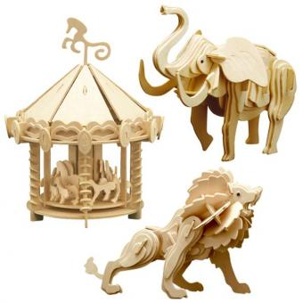 Woodconstruction Circus-Set