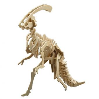 Woodconstruction Parasaurolophus