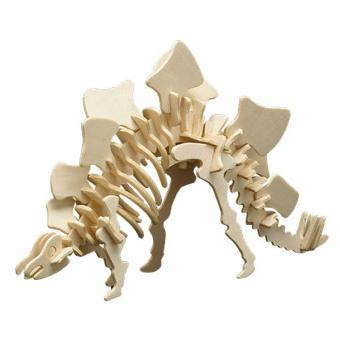 Holzbausatz Stegosaurus