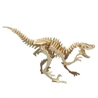 Holzbausatz Velociraptor