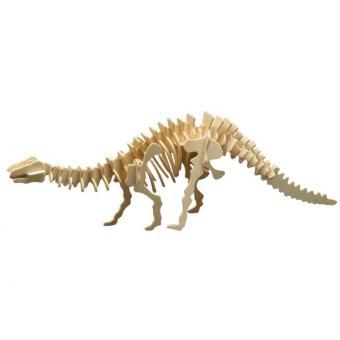 Holzbausatz Brontosaurus