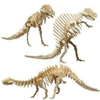 Woodconstruction Dinosaur-Set