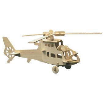 Woodconstruction Helicopter