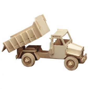 Woodconstruction Dump Truck
