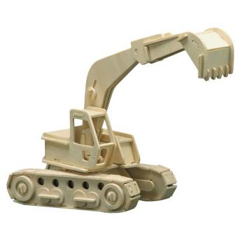 Woodconstruction Excavator