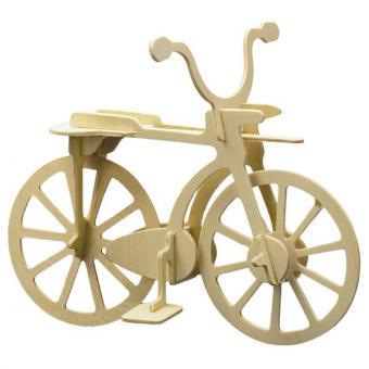 Holzbausatz Fahrrad
