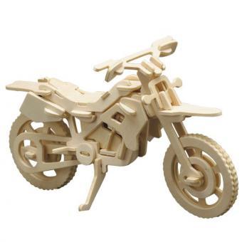 Holzbausatz Cross-Motorrad