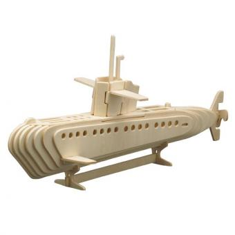 Woodconstruction Submarine Boat
