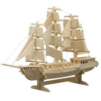 Holzbausatz Segelschiff