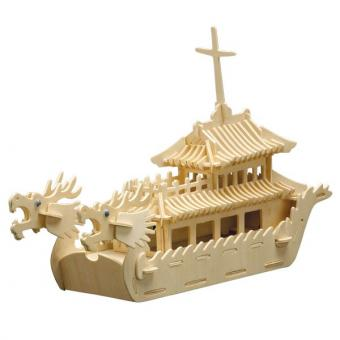 Woodconstruction Dragon Boat