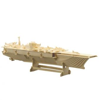 Woodconstruction Aircraft Carrier