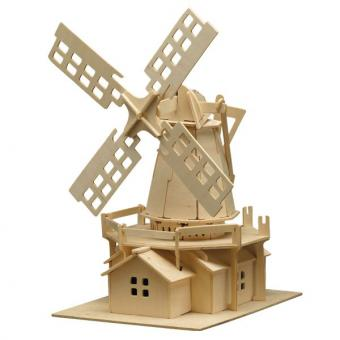 Woodconstruction Windmill