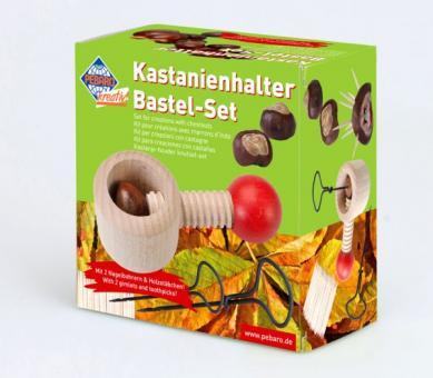 Kastanienhalter Bastel-Set