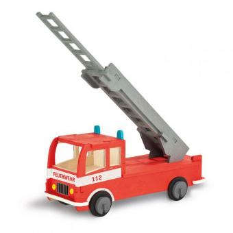 Woodconstruction Fire Truck