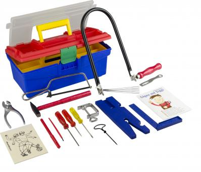 Fretwork Kit in Plastic Carrying Case