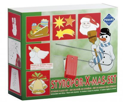 Styroporschneide-Set Weihnachten