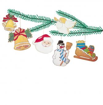 Woodconstruction Christmas Tree Ornaments 1
