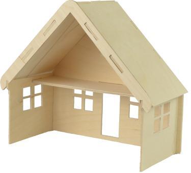 Woodconstruction Dollhous small