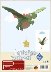 """Laubsägevorlage """"Fliegender Drache"""""""